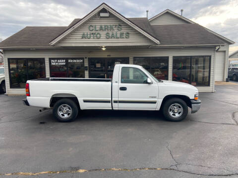 2002 Chevrolet Silverado 1500 for sale at Clarks Auto Sales in Middletown OH