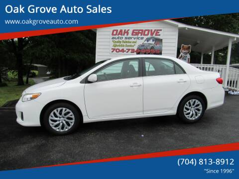 2013 Toyota Corolla for sale at Oak Grove Auto Sales in Kings Mountain NC
