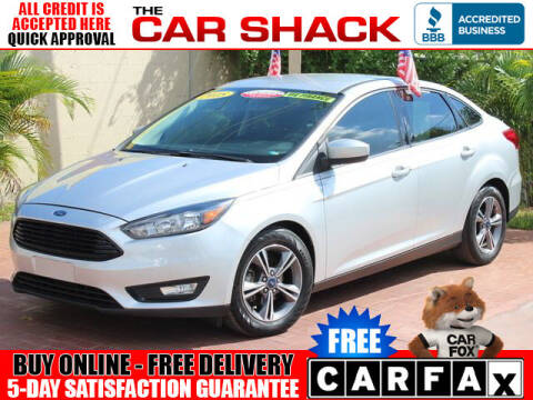 2018 Ford Focus for sale at The Car Shack in Hialeah FL