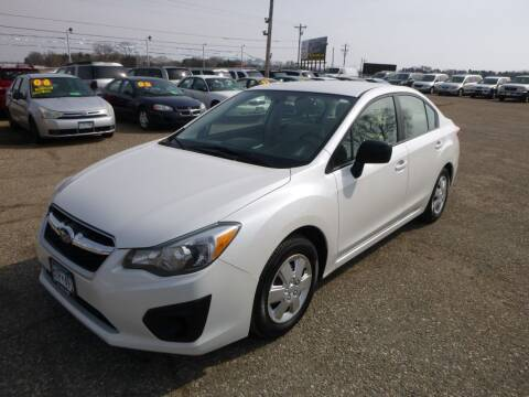 2012 Subaru Impreza for sale at Country Side Car Sales in Elk River MN