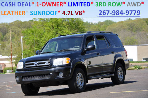 2003 Toyota Sequoia for sale at T CAR CARE INC in Philadelphia PA