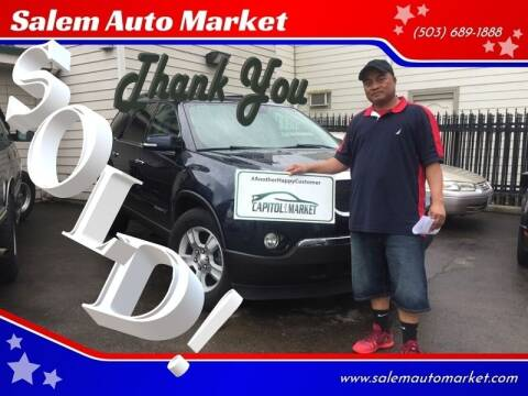 2007 GMC Acadia for sale at Salem Auto Market in Salem OR