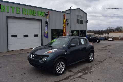 2012 Nissan JUKE for sale at Rite Ride Inc in Murfreesboro TN