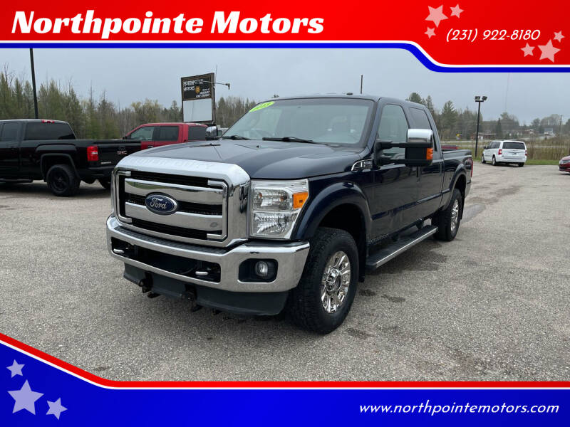 2013 Ford F-250 Super Duty for sale at Northpointe Motors in Kalkaska MI