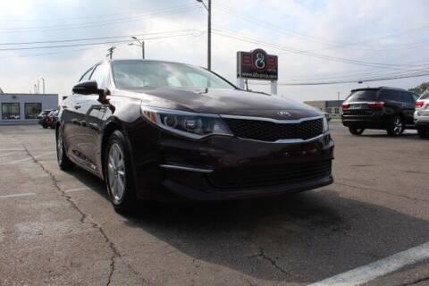 2017 Kia Optima for sale at B & B Car Co Inc. in Clinton Township MI