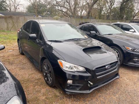 2016 Subaru WRX for sale at Texas Luxury Auto in Houston TX