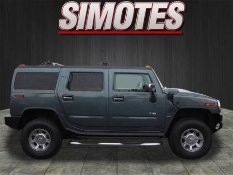 2005 HUMMER H2 for sale at SIMOTES MOTORS in Minooka IL