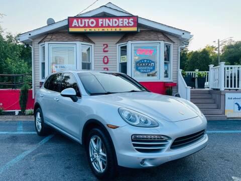 2012 Porsche Cayenne for sale at Auto Finders Unlimited LLC in Vineland NJ