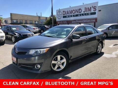 2014 Toyota Camry for sale at Diamond Jim's West Allis in West Allis WI
