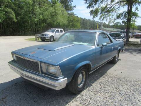 1978 Chevrolet El Camino for sale at Bullet Motors Charleston Area in Summerville SC