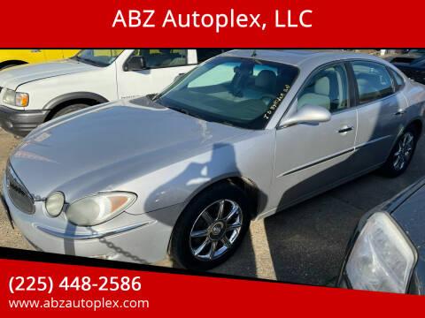 2005 Buick LaCrosse for sale at ABZ Autoplex, LLC in Baton Rouge LA