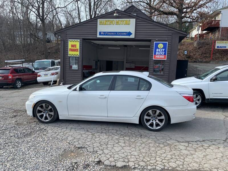 2008 BMW 5 Series for sale at Martino Motors in Pittsburgh PA