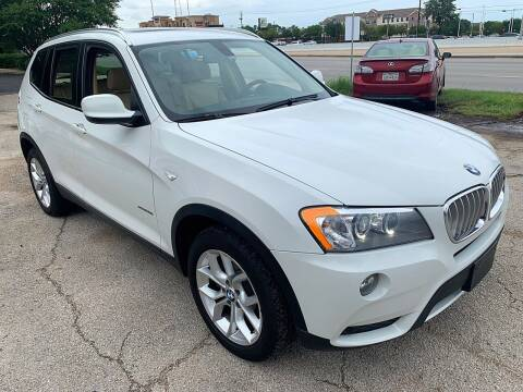 2013 BMW X3 for sale at Austin Direct Auto Sales in Austin TX