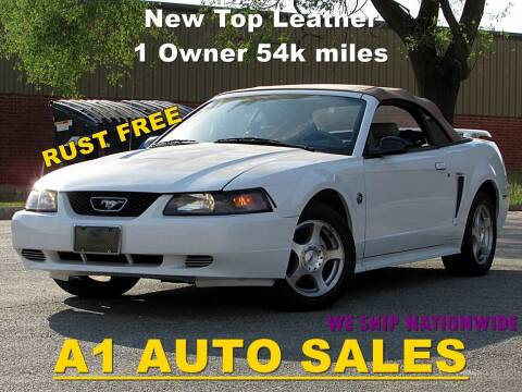 2004 Ford Mustang for sale at A1 Auto Sales in Burr Ridge IL