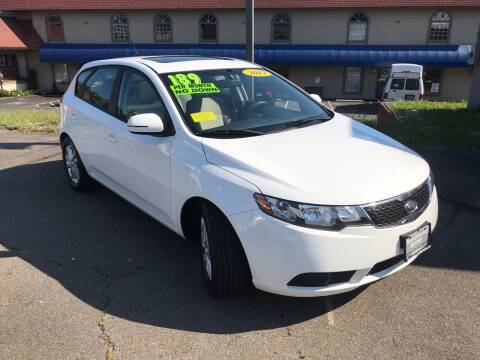 2012 Kia Forte5 for sale at New England Motors of Leominster, Inc in Leominster MA
