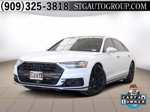 2019 Audi A8 L for sale at STG Auto Group in Montclair CA