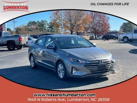 2019 Hyundai Elantra for sale at Nissan of Lumberton in Lumberton NC