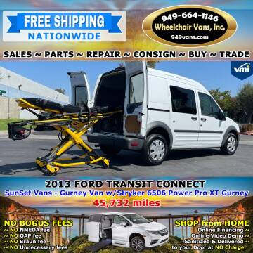 2013 Ford Transit Connect for sale at Wheelchair Vans Inc - New and Used in Laguna Hills CA