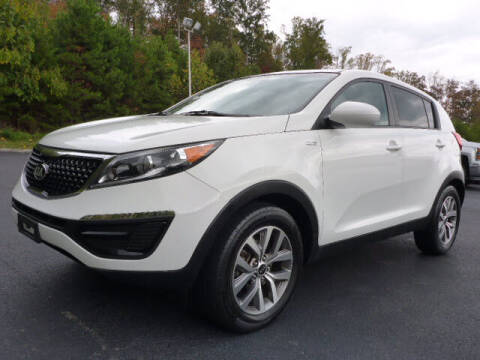2016 Kia Sportage for sale at RUSTY WALLACE KIA OF KNOXVILLE in Knoxville TN
