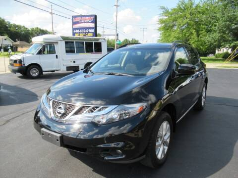 2013 Nissan Murano for sale at Lake County Auto Sales in Painesville OH