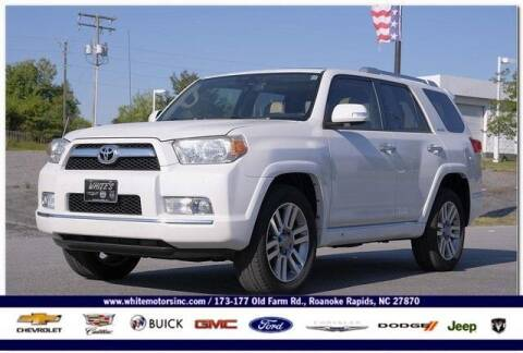 2013 Toyota 4Runner for sale at WHITE MOTORS INC in Roanoke Rapids NC