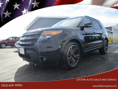2013 Ford Explorer for sale at Lifetime Auto Sales and Service in West Bend WI
