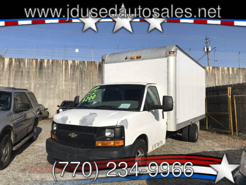 2011 Chevrolet Express Cutaway for sale at J D USED AUTO SALES INC in Doraville GA
