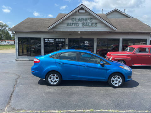 2014 Ford Fiesta for sale at Clarks Auto Sales in Middletown OH