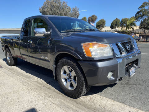 2008 Nissan Titan for sale at Beyer Enterprise in San Ysidro CA