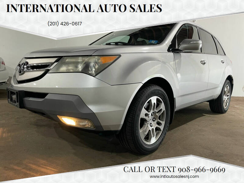 2009 Acura MDX for sale at International Auto Sales in Hasbrouck Heights NJ