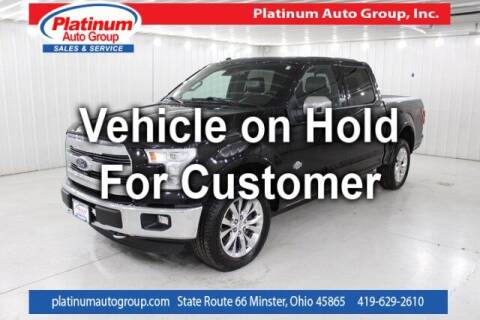 2016 Ford F-150 for sale at Platinum Auto Group Inc. in Minster OH