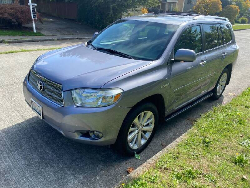 2008 Toyota Highlander Hybrid for sale at Washington Auto Loan House in Seattle WA