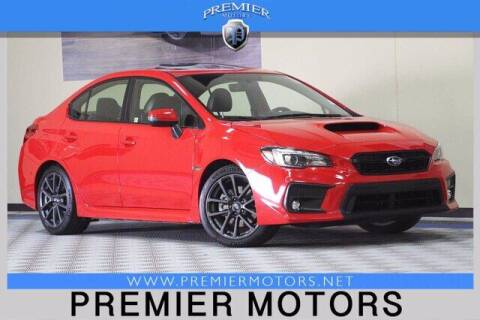 2018 Subaru WRX for sale at Premier Motors in Hayward CA
