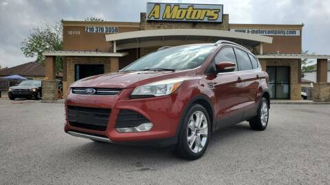 2014 Ford Escape for sale at A MOTORS SALES AND FINANCE in San Antonio TX