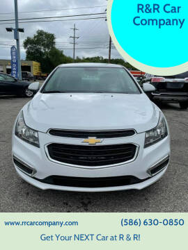 2016 Chevrolet Cruze Limited for sale at R&R Car Company in Mount Clemens MI