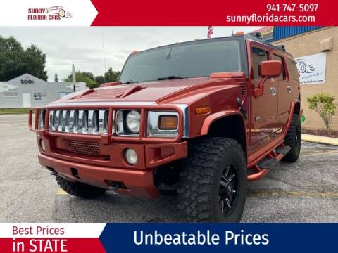 2004 HUMMER H2 for sale at Sunny Florida Cars in Bradenton FL