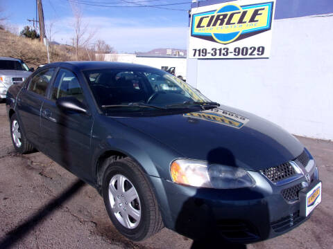 2006 Dodge Stratus for sale at Circle Auto Center in Colorado Springs CO