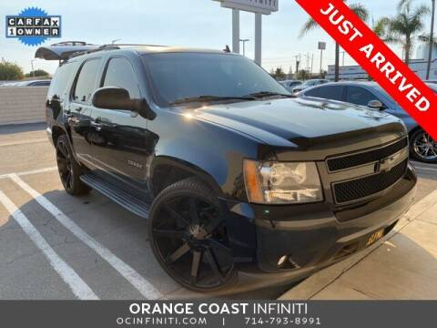2013 Chevrolet Tahoe for sale at ORANGE COAST CARS in Westminster CA