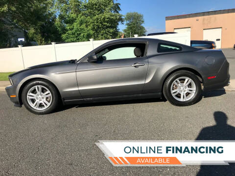 2012 Ford Mustang for sale at New Jersey Auto Wholesale Outlet in Union Beach NJ