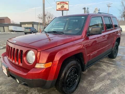 2012 Jeep Patriot for sale at El Rancho Auto Sales in Des Moines IA