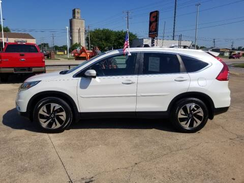 2015 Honda CR-V for sale at C4 AUTO GROUP in Claremore OK