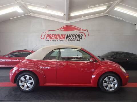 2006 Volkswagen New Beetle Convertible for sale at Premium Motors in Villa Park IL