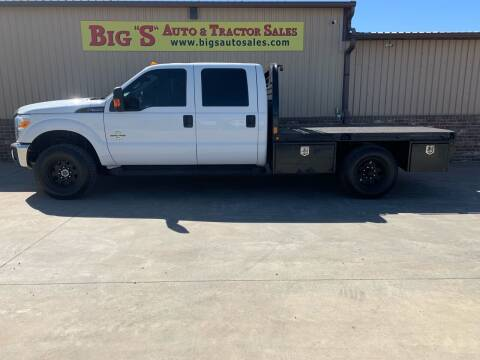 2016 Ford F-350 Super Duty for sale at BIG 'S' AUTO & TRACTOR SALES in Blanchard OK