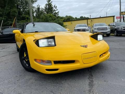 2000 Chevrolet Corvette for sale at North Georgia Auto Brokers in Snellville GA