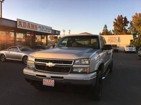 2007 Chevrolet Silverado 1500 Classic for sale at Adams Auto Sales in Sacramento CA
