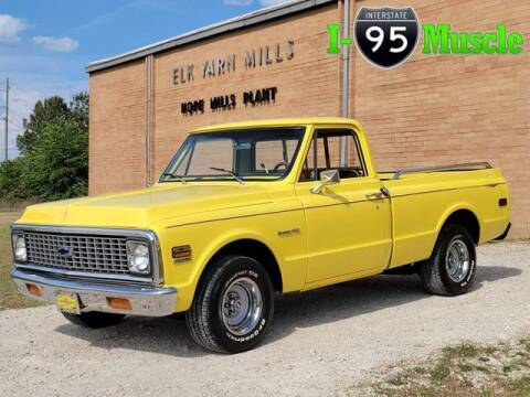 1972 Chevrolet C/K 10 Series for sale at I-95 Muscle in Hope Mills NC