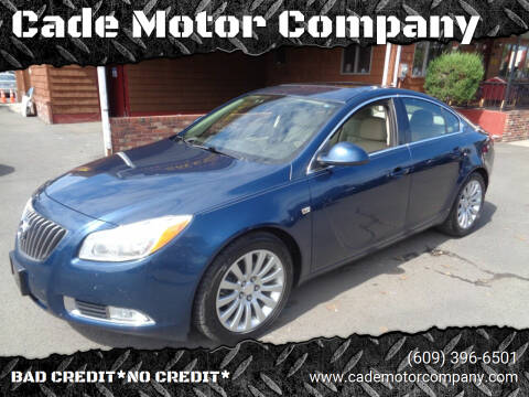 2011 Buick Regal for sale at Cade Motor Company in Lawrenceville NJ