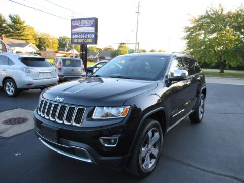 2015 Jeep Grand Cherokee for sale at Lake County Auto Sales in Painesville OH