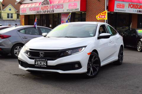 2020 Honda Civic for sale at Foreign Auto Imports in Irvington NJ
