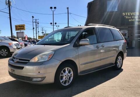 2005 Toyota Sienna for sale at Steve's Auto Sales in Norfolk VA